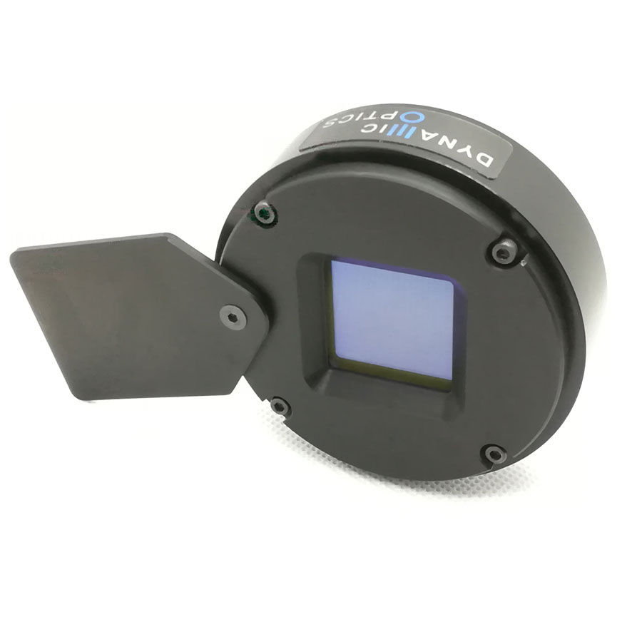 Deformable mirror with external electronic