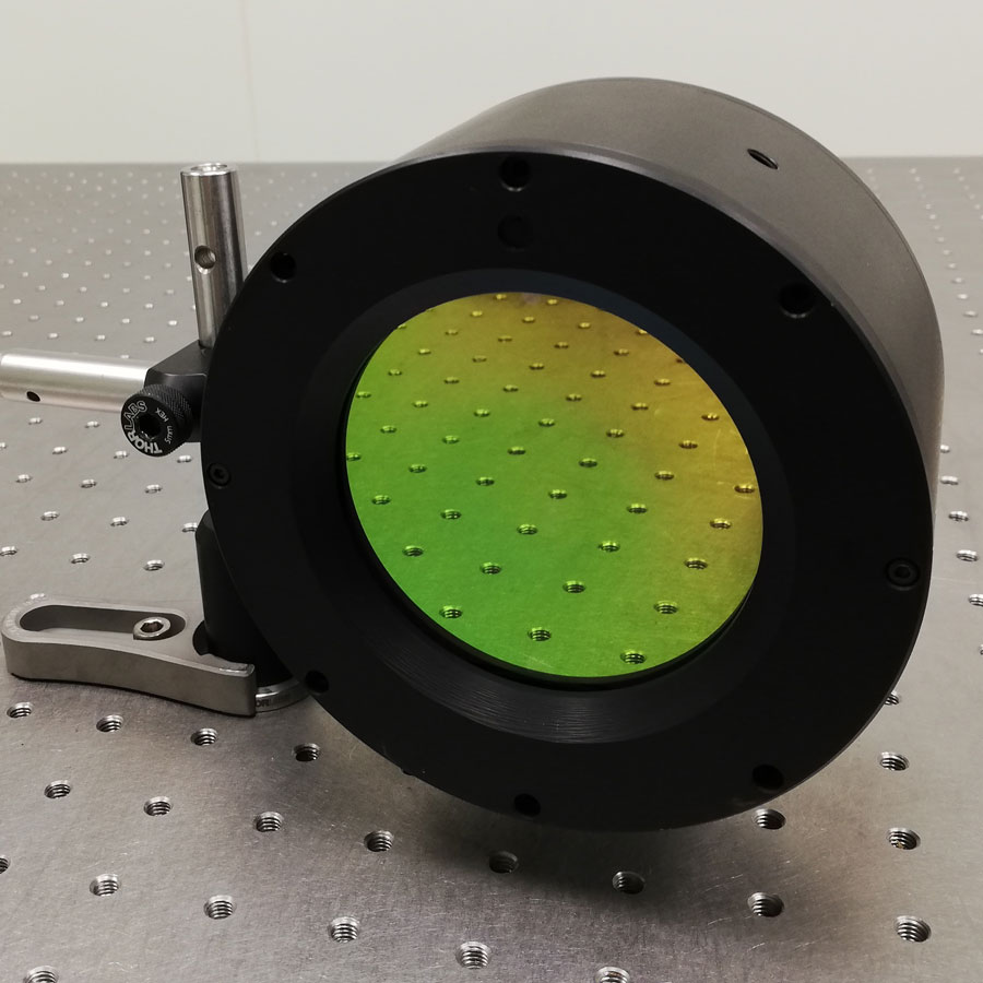 Deformable mirror with Embedded electronic